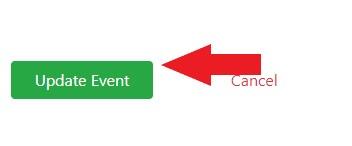 Update Event Button